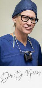 Dr Ben Norris - profile with signature